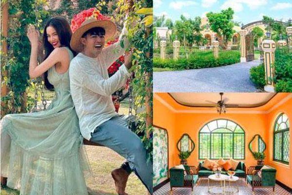 'Soi' biệt phủ 14.000 m2 của quản lý Hồ Ngọc Hà: Kiến trúc Đông Dương, vườn tược sang chảnh