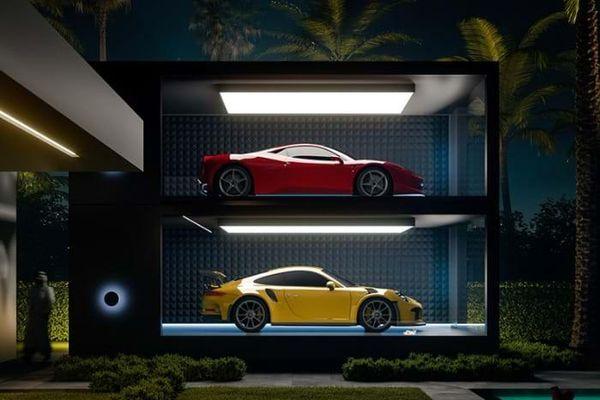 Chiêm ngưỡng những garage cực 'chất' dành cho siêu xe