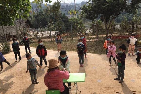 Trường vùng cao linh hoạt dạy học trong mùa dịch