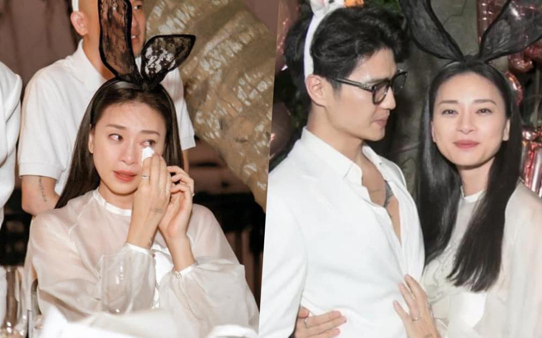 Ngô Thanh Vân ôm bạn trai tin đồn tại tiệc sinh nhật, khóc khẳng định: 'Tôi có Huy, tôi rất hạnh phúc'