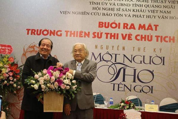Người viết trường thiên thơ với hơn 12.000 câu thơ về Bác Hồ đã qua đời, hưởng thọ 91 tuổi