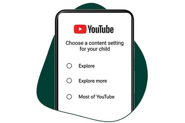 Lựa chọn mới trên YouTube dành cho tuổi thiếu niên