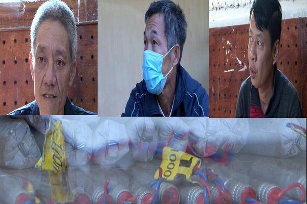 Công an Lai Châu bắt 3 đối tượng mua bán trái phép 13 kg thuốc nổ