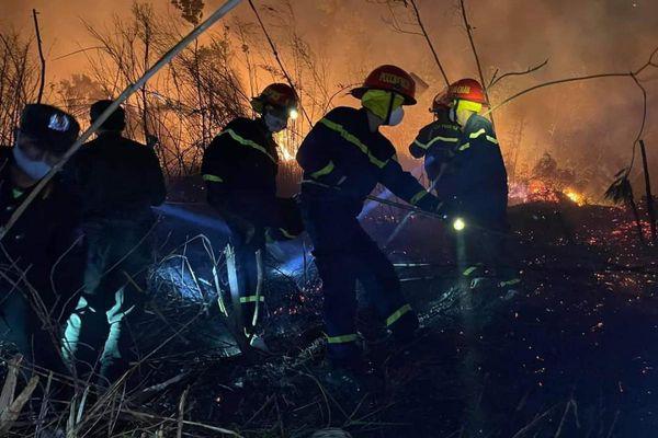 Vụ cháy ở Lai Châu gây thiệt hại hơn 30 ha
