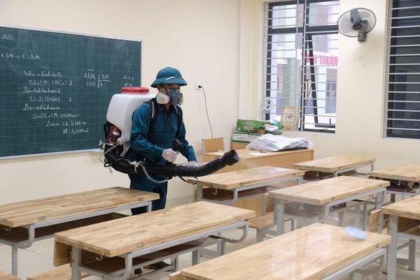 Huyện Đông Anh: Sẵn sàng phương án đón học sinh trở lại trường học