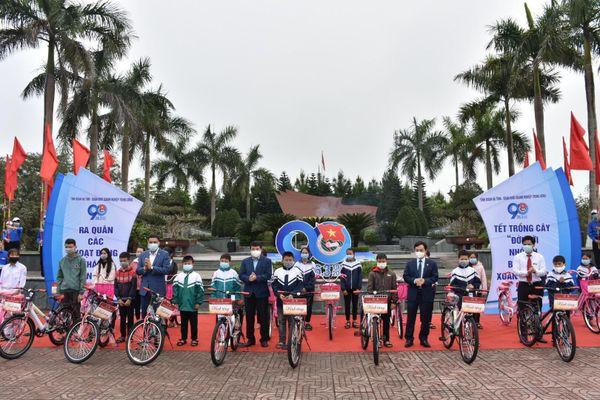Hà Tĩnh: Ra quân Tháng thanh niên và Tết trồng cây 'Đời đời nhớ ơn Bác Hồ'