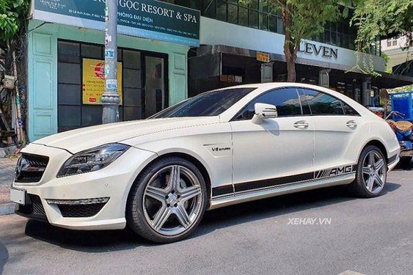 Mercedes-AMG CLS 63, xe sang 10 năm tuổi tiền tỷ tại Việt Nam