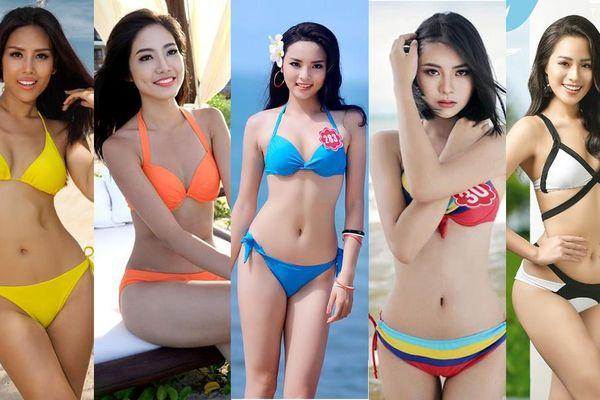 Sắc vóc nóng bỏng của các 'Người đẹp Biển' của Hoa hậu Việt Nam qua một thập kỷ