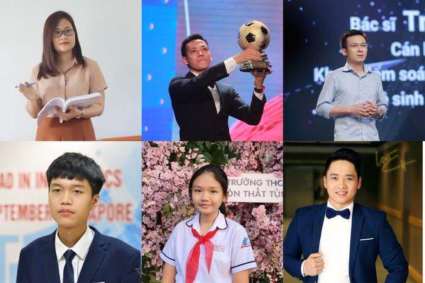 Bảng thành tích xuất sắc của top 20 'Gương mặt trẻ Việt Nam tiêu biểu' năm 2020