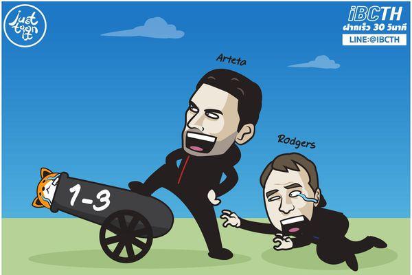 Ảnh chế: Những kẻ lười biếng tỏa sáng, Arsenal bắn hạ Leicester City