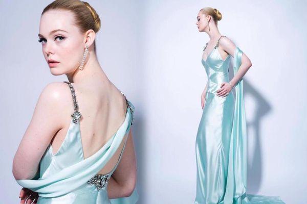'Thần tiên tỷ tỷ' Elle Fanning bỏ bùa khán giả khi diện váy đẹp như nàng công chúa Elsa dự thảm đỏ