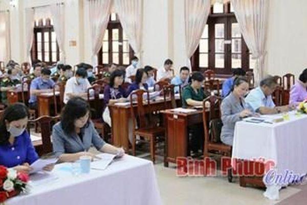Bình Phước hướng dẫn giới thiệu người ứng cử đại biểu Quốc hội, HĐND