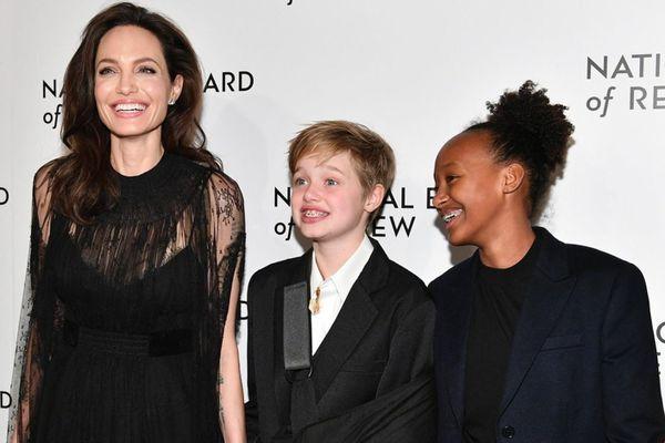 Mối quan hệ giữa con ruột và con nuôi của Angelina Jolie