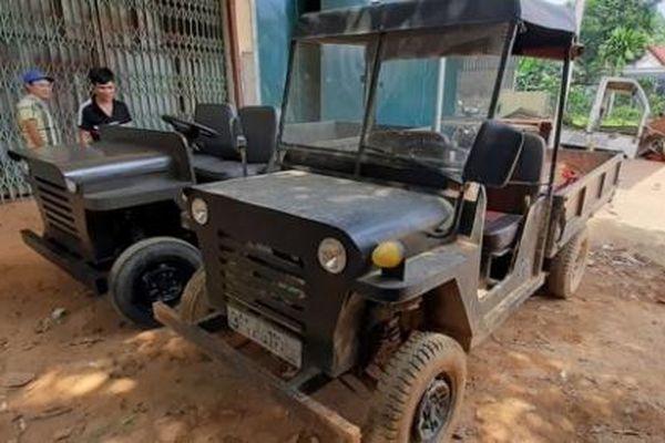 Xe tải, máy nông nghiệp của chàng thanh niên đất Tổ