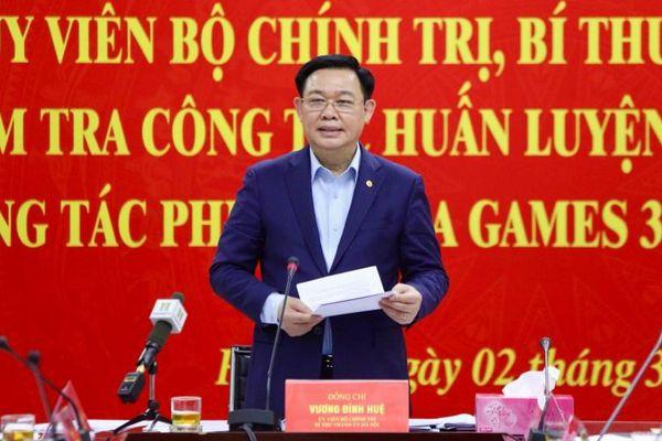 Hà Nội hoàn thành các công trình phục vụ SEA Games 31 trước ngày 30-9