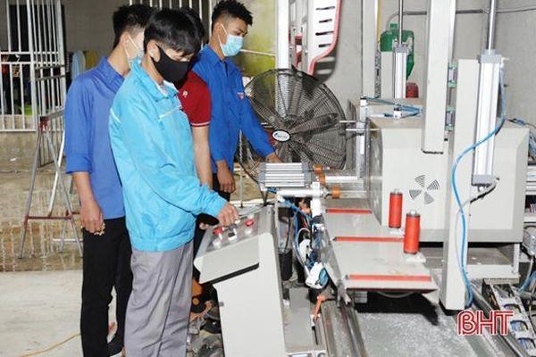 Huyện đoàn Nghi Xuân ra mắt 2 mô hình kinh tế thanh niên