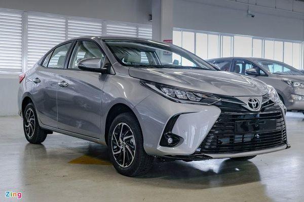 Cận cảnh Toyota Vios 2021 vừa ra mắt tại Việt Nam với giá từ 478 triệu đồng