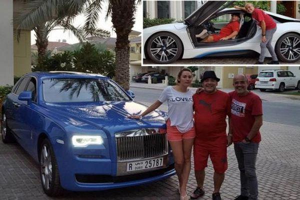 BMW và Rolls-Royce của Maradona ở Dubai bán đấu giá được bao nhiêu?