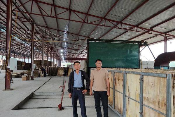 Kỹ sư Thanh Hóa sáng chế thành công lò sấy ván trên không hiệu suất lớn nhất Việt Nam