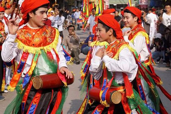 Theo dấu những điệu múa cổ đất Thăng Long