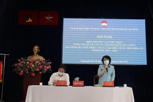 TP Hồ Chí Minh: Hiệp thương lần thứ nhất bầu cử đại biểu Quốc hội, HĐND các cấp