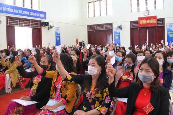 Bắc Giang tổ chức điểm Đại hội đại biểu Phụ nữ cấp cơ sở