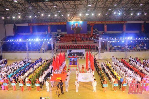 Đại hội TDTT tỉnh Thanh Hóa lần thứ IX có 23 môn thi đấu chính thức