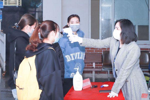 Chú trọng phòng, chống dịch COVID - 19 tại các trường đại học, cao đẳng trên địa bàn Thanh Hóa