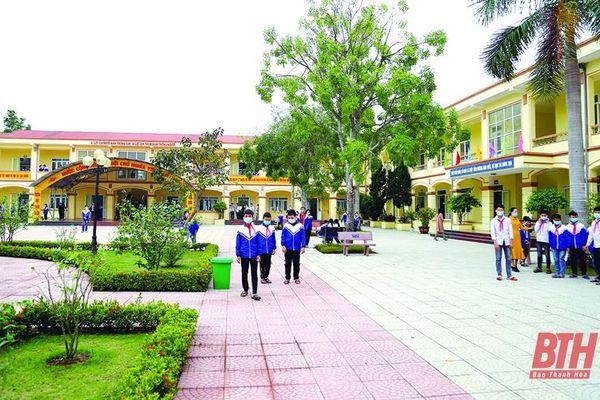 Ngành giáo dục Hoằng Hóa với phong trào xây dựng trường chuẩn quốc gia