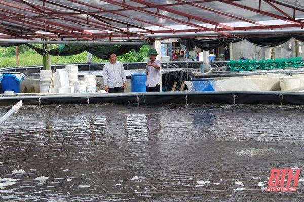 Đa dạng đối tượng nuôi trồng thủy sản vụ xuân hè