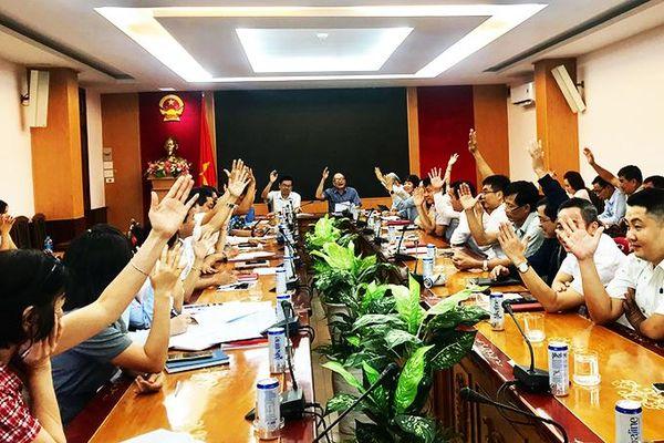 Lấy ý kiến cử tri nơi công tác đối với người được dự kiến giới thiệu ứng cử đại biểu HĐND tỉnh khóa VII
