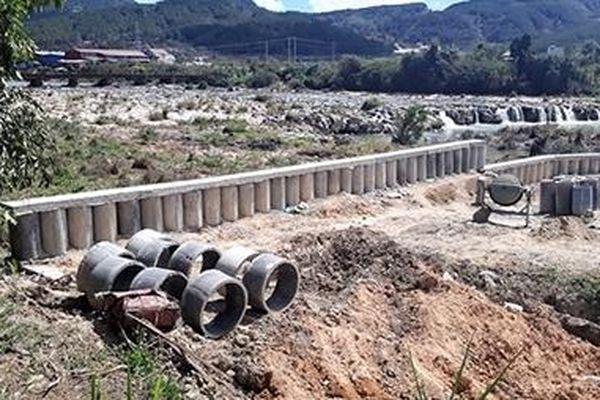 Xử lý hành vi lấn sông Đa Nhim để chiếm đất
