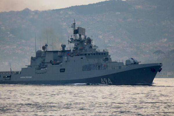 Tàu chiến Nga lần đầu tiên hiện diện ở Sudan