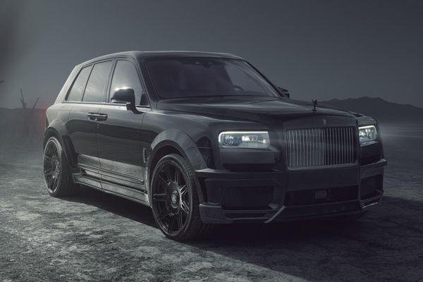 Chi tiết Rolls-Royce Cullinan Black Badge hầm hố và mạnh mẽ