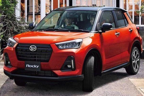 Daihatsu Rocky/Toyota Raize 2021 thêm công nghệ 'đấu' với Hyundai Kona