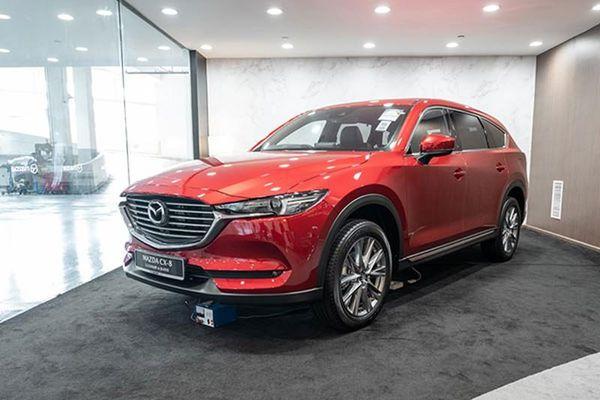 Mazda CX-8 2021 sẽ có phiên bản 6 chỗ 'sang, xịn mịn'