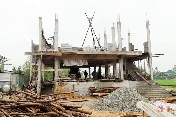 Hà Tĩnh: Giải ngân hơn 43 tỷ đồng hỗ trợ xây dựng công trình tránh lũ