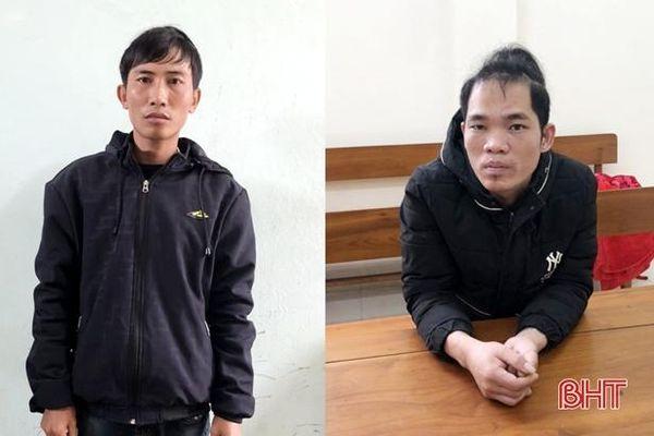 Hà Tĩnh: Bắt nhanh 2 đối tượng cướp giật điện thoại người phụ nữ đang đi bộ