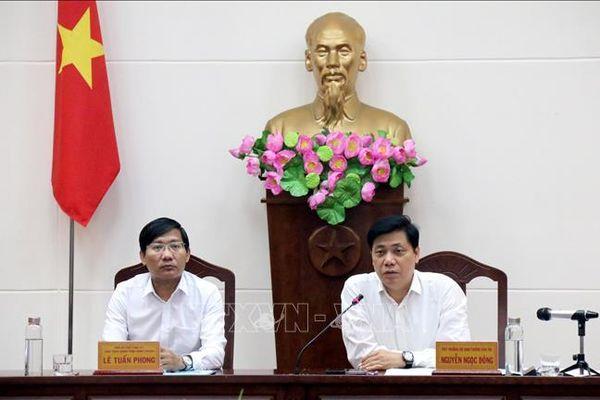 Bộ GTVT làm việc với Bình Thuận về dự án cao tốc Bắc - Nam