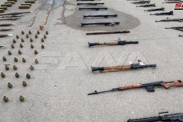 Bí mật bất ngờ trong kho vũ khí khổng lồ IS giấu ở Daraa, Syria