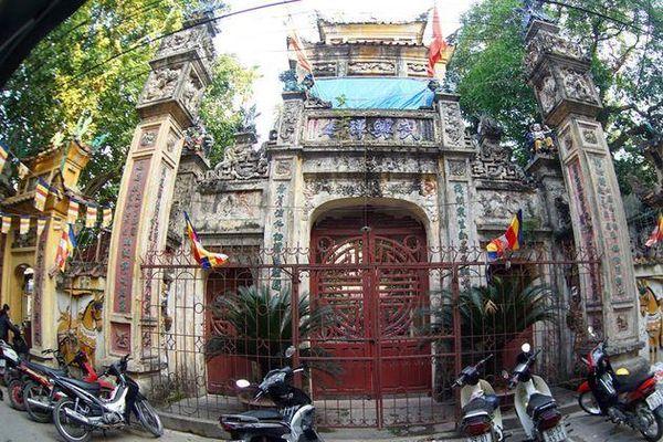 Chùa Hưng Ký: Ngôi chùa gốm sứ độc đáo của Hà Nội