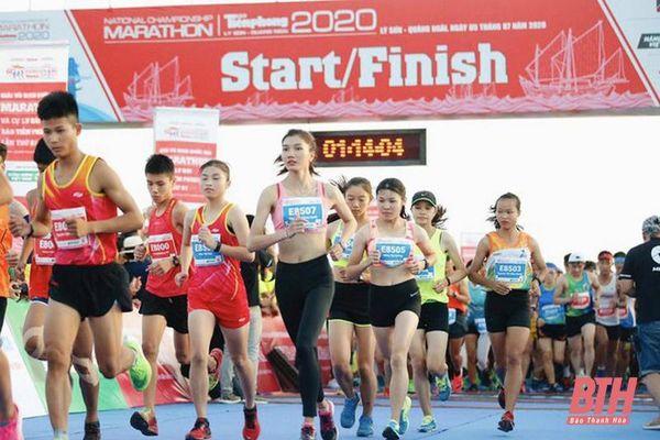 Điền kinh Thanh Hóa khởi đầu năm 2021 bằng việc tham gia Giải Vô địch Quốc gia Marathon và cự ly dài Báo Tiền Phong