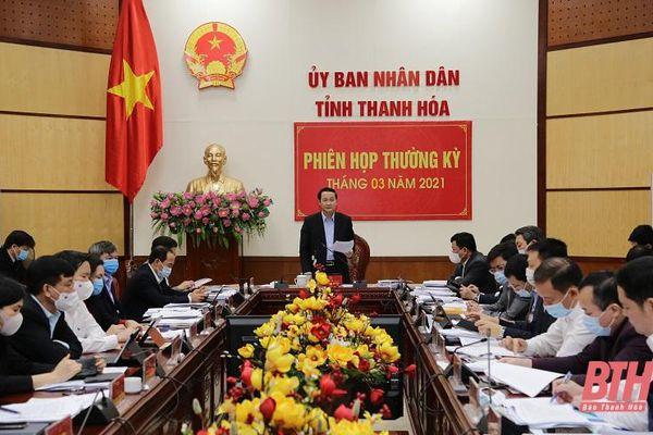 Thảo luận, cho ý kiến vào một số chương trình, kế hoạch phát triển kinh tế - xã hội tỉnh Thanh Hóa giai đoạn 2021-2025