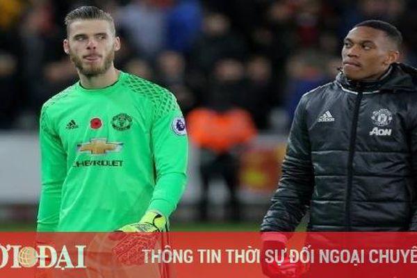 Hé lộ lý do HLV Solskjaer gạch tên De Gea và Martial ở trận gặp Crystal Palace