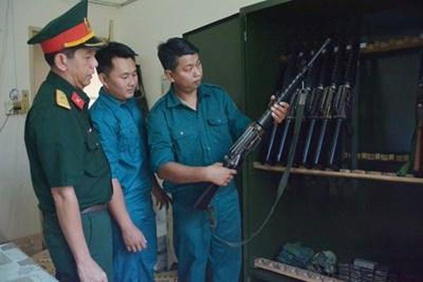 Chi bộ quân sự - điểm sáng tại Long Xuyên