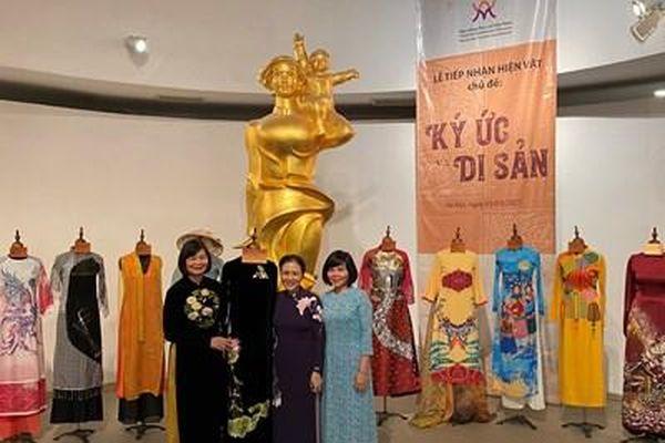 Lan tỏa giá trị truyền thống của Việt Nam ra thế giới bằng hình ảnh áo dài