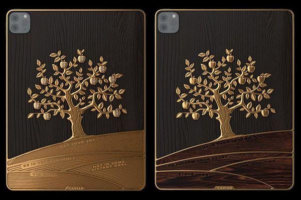 iPad Pro nạm vàng: 'Quả táo' thay bằng cả... 'cây táo'