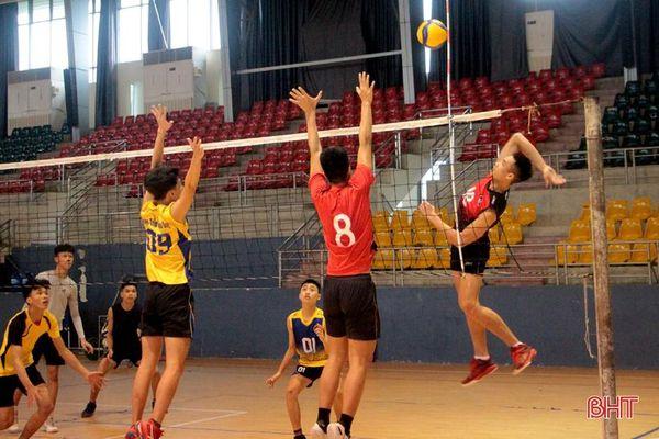 Bóng chuyền Hà Tĩnh đối đầu với TP Hồ Chí Minh trận ra quân Giải Bóng chuyền VĐQG 2021