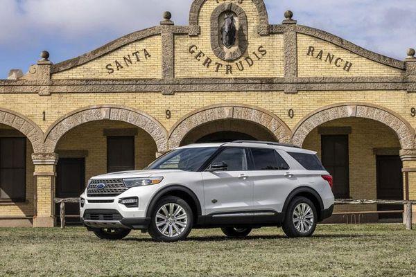Chi tiết Ford Explorer King Ranch 2021 vừa ra mắt, giá từ 52.350 USD