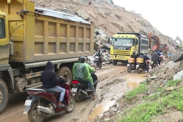 Bình Định chấn chỉnh việc thi công đường ven biển ĐT.639